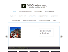 Tablet Preview of 1000hotels.net